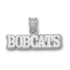 Texas State Bobcats 3/16in Sterling Silver Pendant