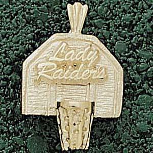 Texas Tech Lady Raiders 3/4in 10k Pendant