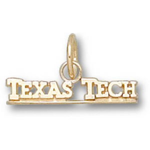 Texas Tech Red Raiders 1/4in 10k Pendant