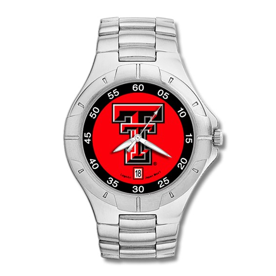 Texas Tech Red Raiders Mens Stainless Pro II Watch
