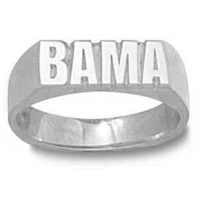 Sterling Silver Men's University of Alabama BAMA Ring