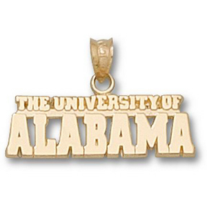 University of Alabama 3/8in 14k Pendant