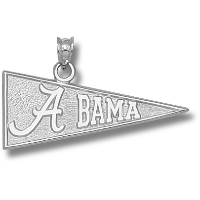 University of Alabama 1/2in Pendant Sterling Silver