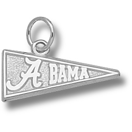 University of Alabama 5/16in Pendant Sterling Silver