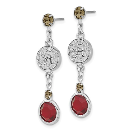 University of Alabama Crystal Logo Earrings