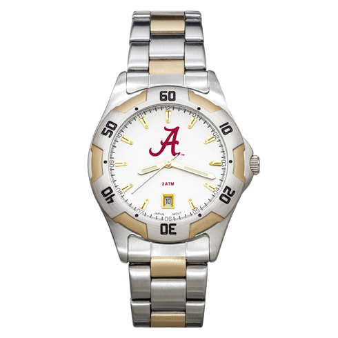University of Alabama All-Pro Men's Two-Tone Watch