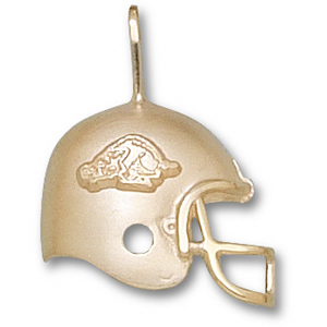 Arkansas Razorbacks 3/4in 10k Helmet Pendant