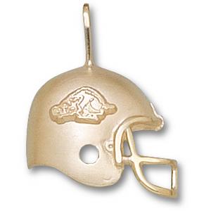 Arkansas Razorbacks 3/4in 14k Helmet Pendant