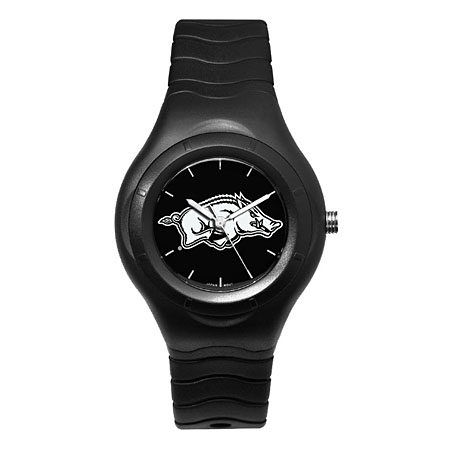 University of Arkansas Shadow Black Sports Watch