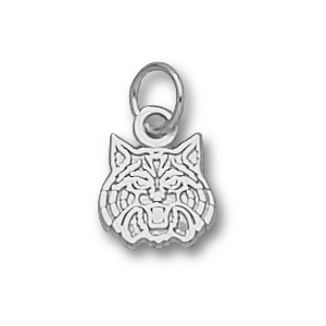 Sterling Silver 5/16in University of Arizona Wildcats Charm