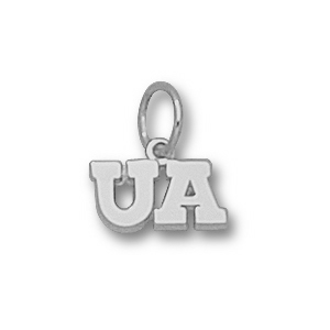 Arizona Wildcats 3/16in Sterling Silver UA Charm