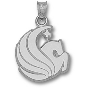 Sterling Silver 5/8in Central Florida Pegasus Pendant