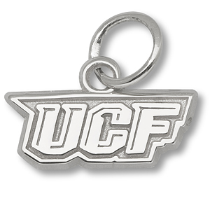 Sterling Silver 1/2in University of Central Florida Charm