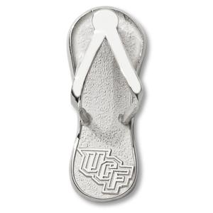 Sterling Silver 1in UCF Flip Flop Pendant