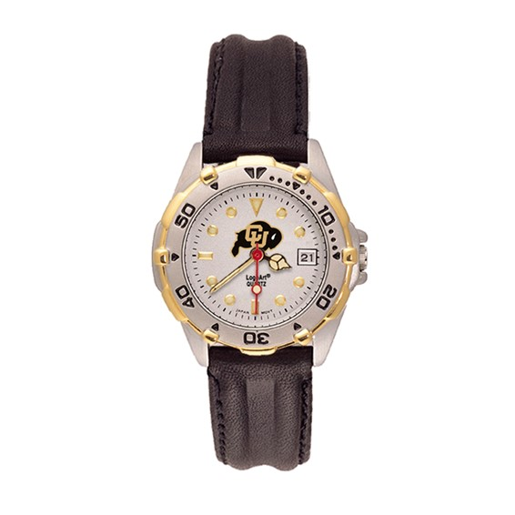 University of Colorado All Star Leather Ladies Watch