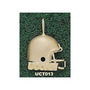 Connecticut Huskies 3/4in 14k Helmet Pendant