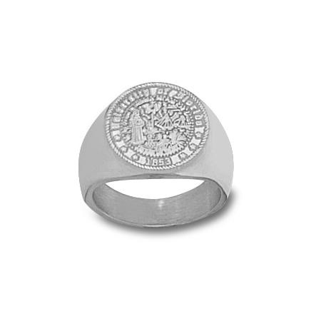 Sterling Silver Men's University of Florida Seal Ring