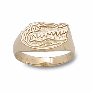 Florida Gators Ladies' Gator Ring - 14k