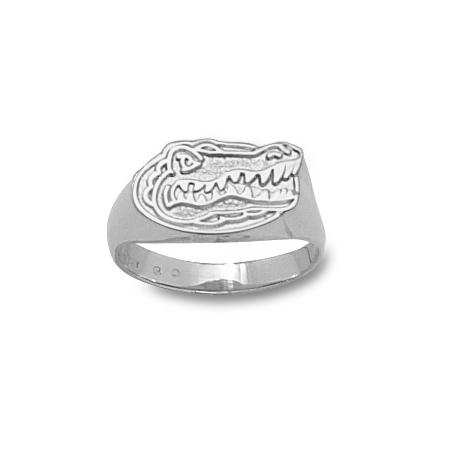 Sterling Silver University of Florida Ladies' Gator Ring