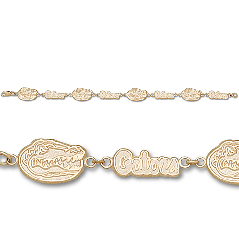 Florida Gators 7in 10k Bracelet