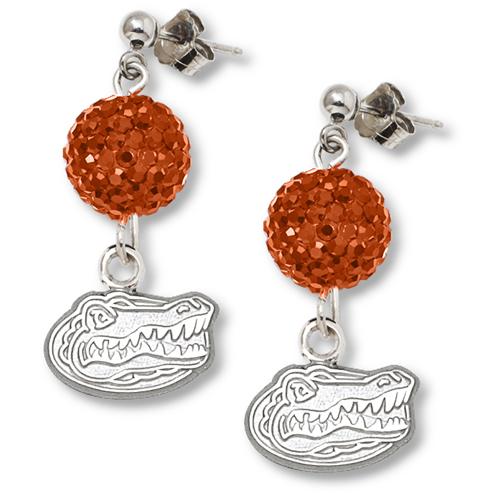 University of Florida Crystal Ovation Earrings