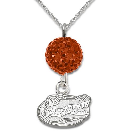 University of Florida Crystal Ovation Necklace