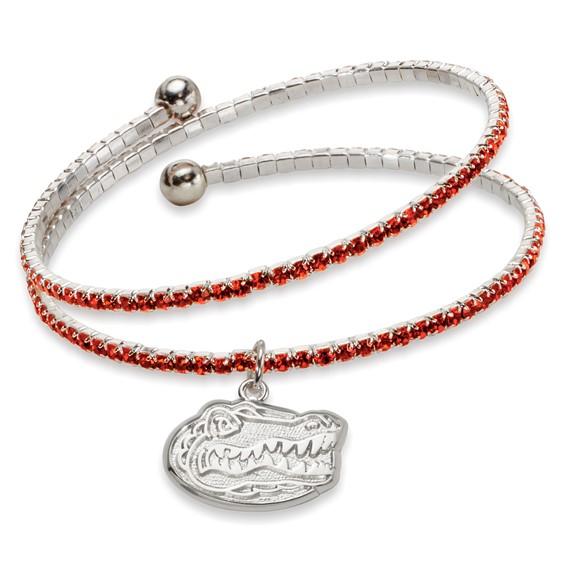 University of Florida Amped Logo Crystal Bracelet