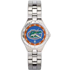 Florida Gators Ladies Stainless Pro II Watch