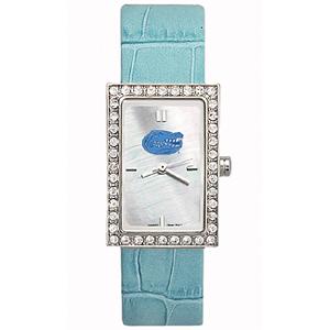 Florida Gators Starlette Sky Blue Leather Watch