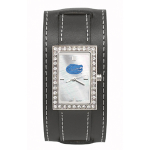 University of Florida Wide Starlette Leather Watch