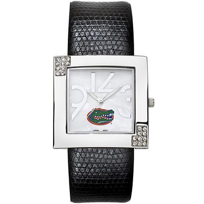 Florida Gators Chrome Ladies Glamour Watch