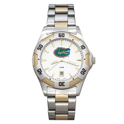 University of Florida All-Pro Men's Two-Tone Watch