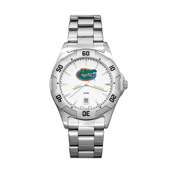 University of Florida All-Pro Men's Chrome Watch
