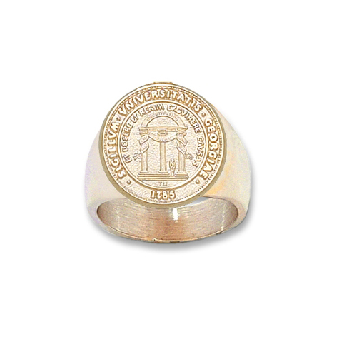 Men's Georgia Bulldogs Seal Ring - 10k Gold