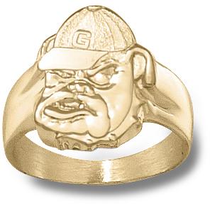Georgia Bulldogs Men's 10k Ring