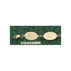 Georgia Bulldogs 7 1/4in 10k G Bracelet