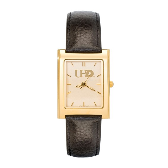 UHD Ladies' Square Elite Leather Watch