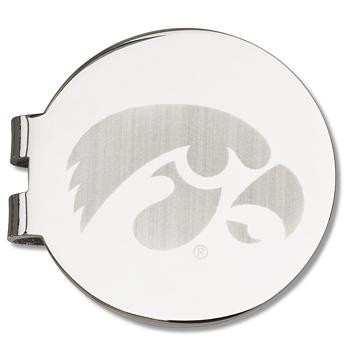 University of Iowa Tiger Hawk Round Money Clip