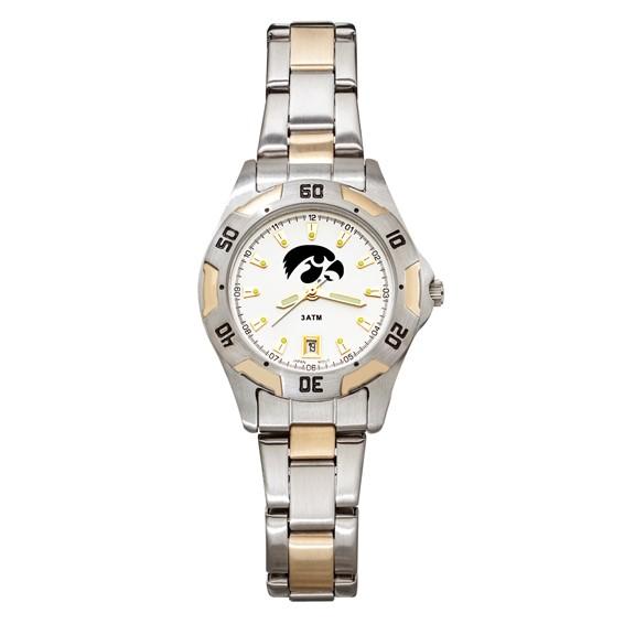 University of Iowa Women's All-Pro Two Tone Watch