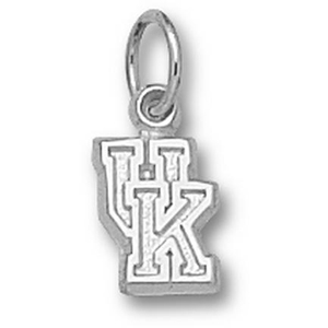Kentucky Wildcats 1/4in Sterling Silver Charm