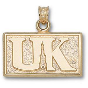 Kentucky Wildcats 1/2in 10k Tower Logo Pendant