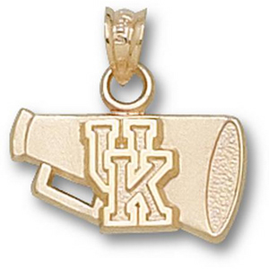 Kentucky Wildcats 5/8in 14k Megaphone Pendant
