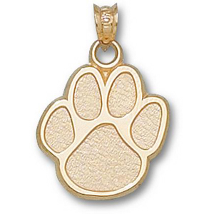 Kentucky Wildcats 5/8in 10k Paw Pendant