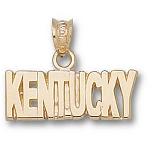 Kentucky Wildcats 1/2in 10k Team Pendant