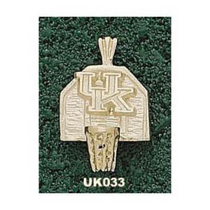 Kentucky Wildcats 5/8in 14k UK Backboard Pendant