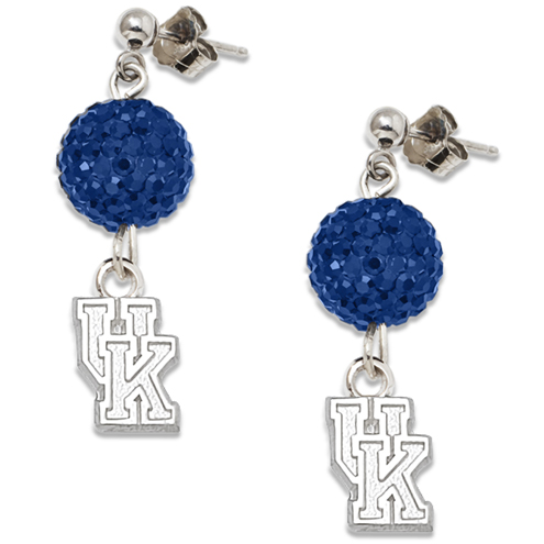 University of Kentucky Crystal Ovation Earrings