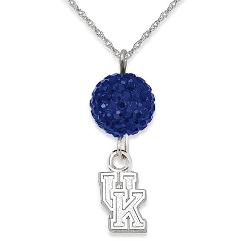 University of Kentucky Crystal Ovation Necklace