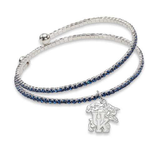 University of Kentucky Amped Logo Crystal Bracelet