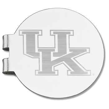 University of Kentucky Laser Engraved Money Clip