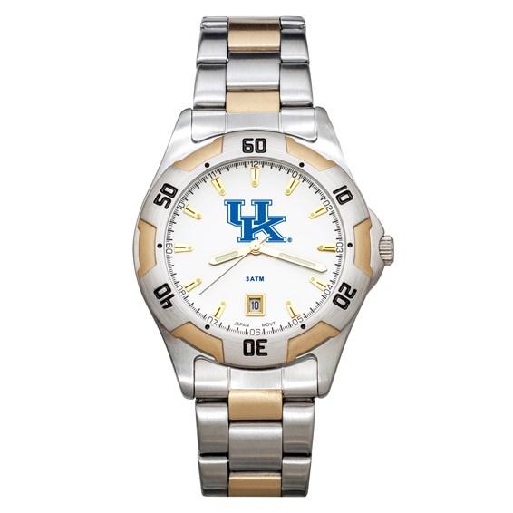 University of Kentucky Men's All-Pro Two Tone Watch